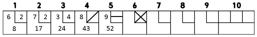 scoring frame 6